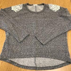 Anthropologie sweatshirt top